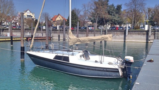 Charter Segelboot Segelyacht Trainingsboot Bodensee